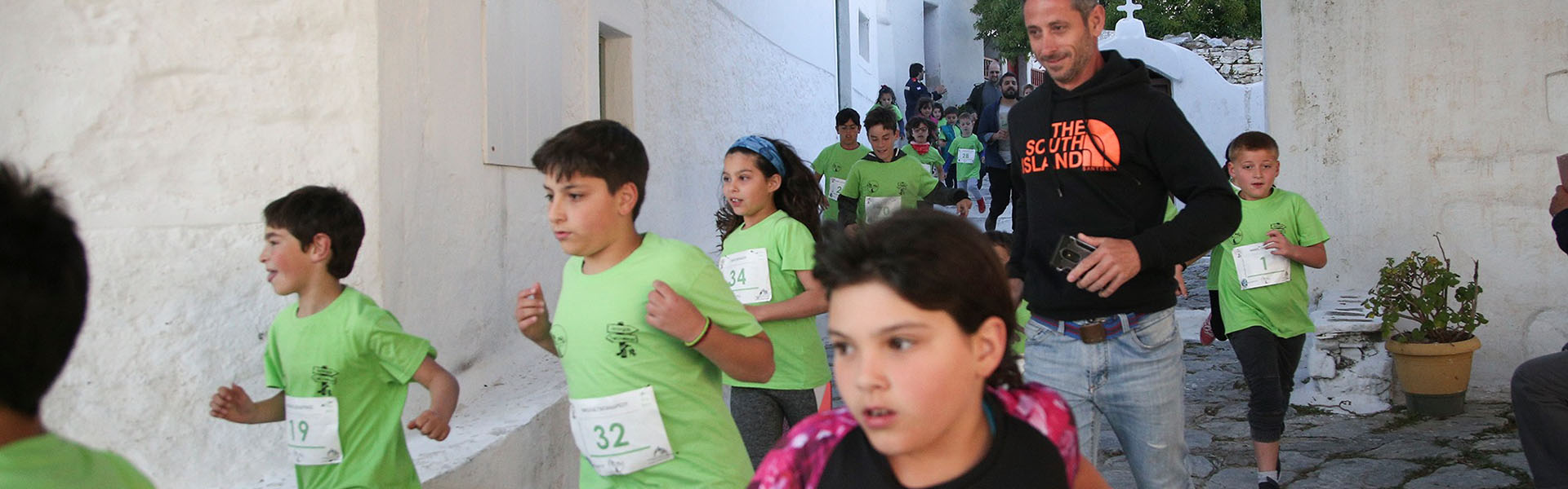 Amorgos Trail Challenge Chora Kids Race